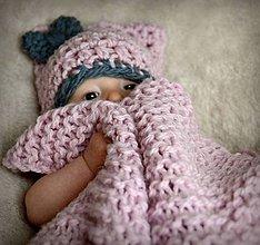 Textil - Vlněná dečka pro miminko - 5047920_