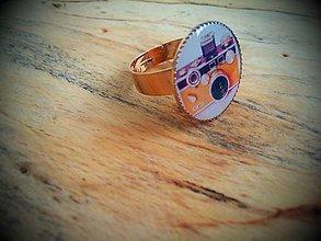 Prstene - Prstienok s motívom fotoaparátu - 5046164_