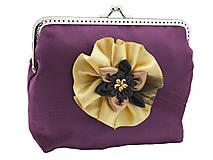 Kabelky - Spoločenská kabelka fialová 13955A - 5052449_