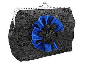 Kabelky - Spoločenská dámská čierná kabelka 0920E - 5052239_