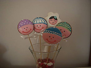 Dekorácie - medovník na paličke-narodeninová pártyll - 5051732_