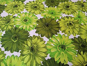 Textil - Bavlna na režnom podklade - cena za 10 cm - 5051755_