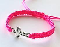 - S krížikom - ružový - 5050593_