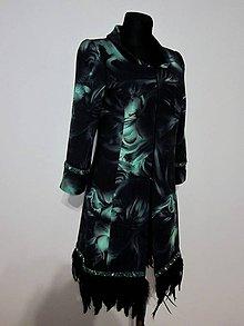 Kabáty - Exkluzívny pierkový kabát Zľava 30% - 5052932_