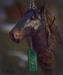 Kľúčenky - Kôň - kľúčenka podľa fotografie - 5052341_