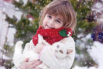Detské čiapky - Pixie ušianka a nákrčník - 5050349_