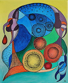 Obrazy - Colourful magic - 5057529_