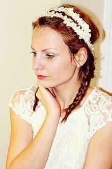 Ozdoby do vlasov - Wedding day... - 5057472_