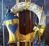 Venček na dvere Yellow II