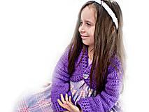 Detské oblečenie - Bolerkový svetrík polkruhový - 5054763_