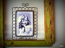 Dekorácie - Retro fotorámik - 5054839_
