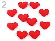 - Látkové ozdoby srdce - 5056322_