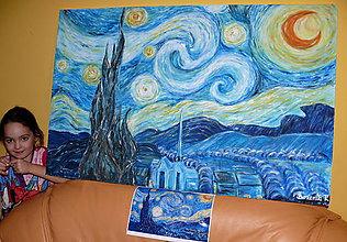 Obrazy - Maľba na plátne