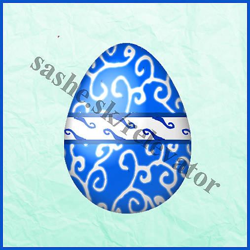 Veľkonočné vajíčko - ornamentové - NA ZÁKAZKU