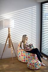 Nábytok - Dizajnový sedací vak TAKOY 3XL+podnožka zdarma poťah 197 - 5060669_