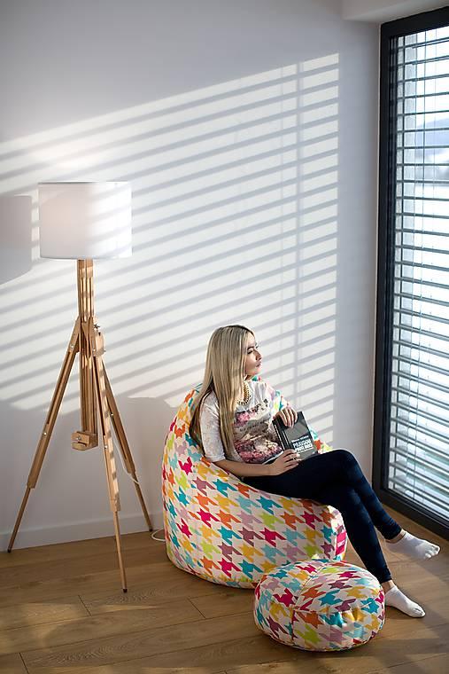 Nábytok - Dizajnový sedací vak TAKOY 2XL+podnožka zdarma poťah 197 - 5060669_