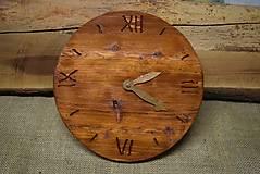 - Drevené hodiny (č.6) - 5061932_