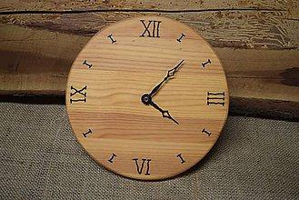 Hodiny - Drevené hodiny (č.4) - 5061906_