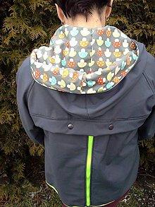 Tehotenské oblečenie - Softshellová bunda s vsadkou na nošeni a těhu vsadkou - 5061597_