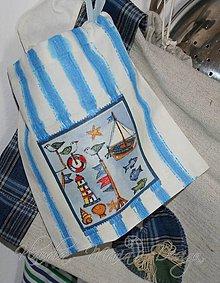 Úžitkový textil - vrecúško more - 5059109_