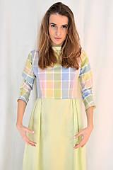 - Pastelkami vyfarbené šaty - 5058348_