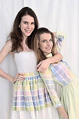 Sukne - Pastelkami vyfarbená loli sukňa - 5059185_