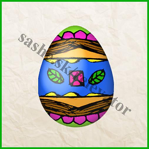 Veľkonočné vajíčko - zvláštne motívy - NA ZÁKAZKU