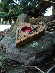 Svietidlá a sviečky - Malá spomienka z dreveničky - 5061485_