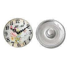 Komponenty - Butonka vintage hodiny - 5064445_