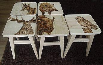 Nábytok - drevené stoličky - 5063093_