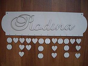 Polotovary - Rodinný kalendár - kalendár sviatkov - 5066360_