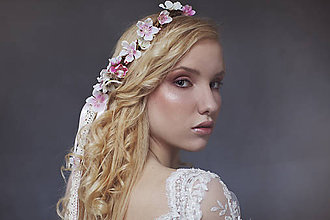 Ozdoby do vlasov - Svadobný venček \