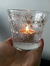 Svietidlá a sviečky - zimná romantika - 5063213_