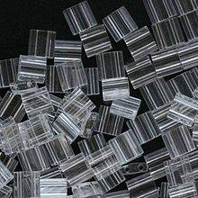 Korálky - Miyuki Tila Beads TL131 - Crystal (10g) - 5064853_