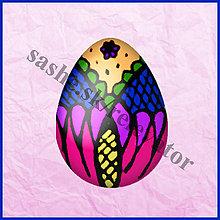 Papier - Veľkonočné vajíčko - kraslica - NA ZÁKAZKU - 5063697_