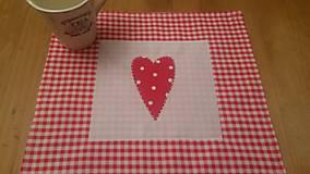 Úžitkový textil - Raňajky s láskou - 5069750_