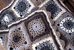 """Úžitkový textil - """"Lioma"""" deka stratená v zimnej krajine - 5067732_"""