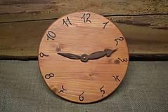 - Drevené hodiny (č.17) - 5068668_