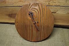 Hodiny - Drevené hodiny (č.19) - 5068693_