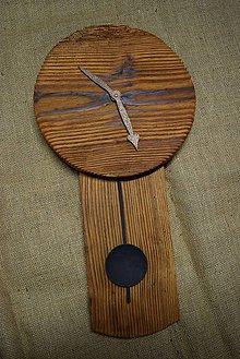 Hodiny - Drevené hodiny (č.24) - 5068775_