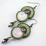 Náušnice - Rose water opal - 5067861_