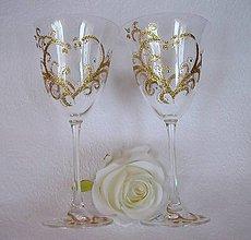 Nádoby - Svadobné poháre - 5072508_