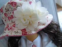 Bábiky - Ružová v skladanej sukničke - 5071776_