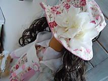 Bábiky - Ružová v skladanej sukničke - 5071781_