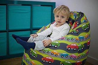 Nábytok - Dizajnový sedací vak TAKOY XL poťah 7 - 5071504_