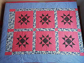 Úžitkový textil - patchworková deka - 5073425_