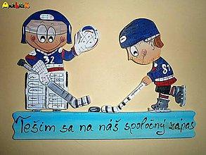 Tabuľky - Menovka - hokejisti - 5074554_