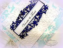 """Papiernictvo - Svadobné oznámenie """"Svadba v Damasku I."""" - 5074617_"""