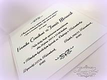 """Papiernictvo - Svadobné oznámenie """"Svadba v Damasku I."""" - 5074629_"""