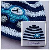 Detské čiapky - ciapka auto - 5071248_